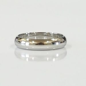Jewelry - 18K White Gold Band Ring